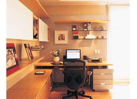 El escritorio en la decoración.