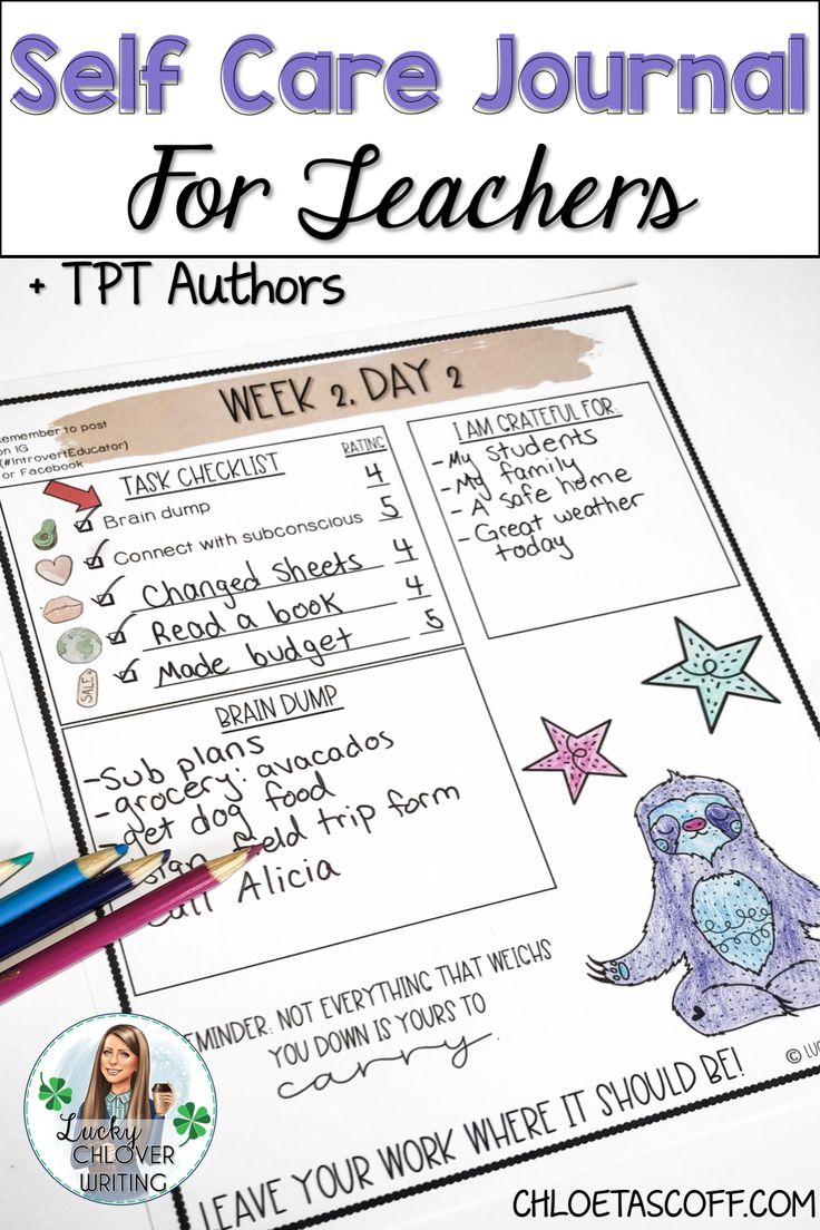 Self care for teachers is so important, especially at the