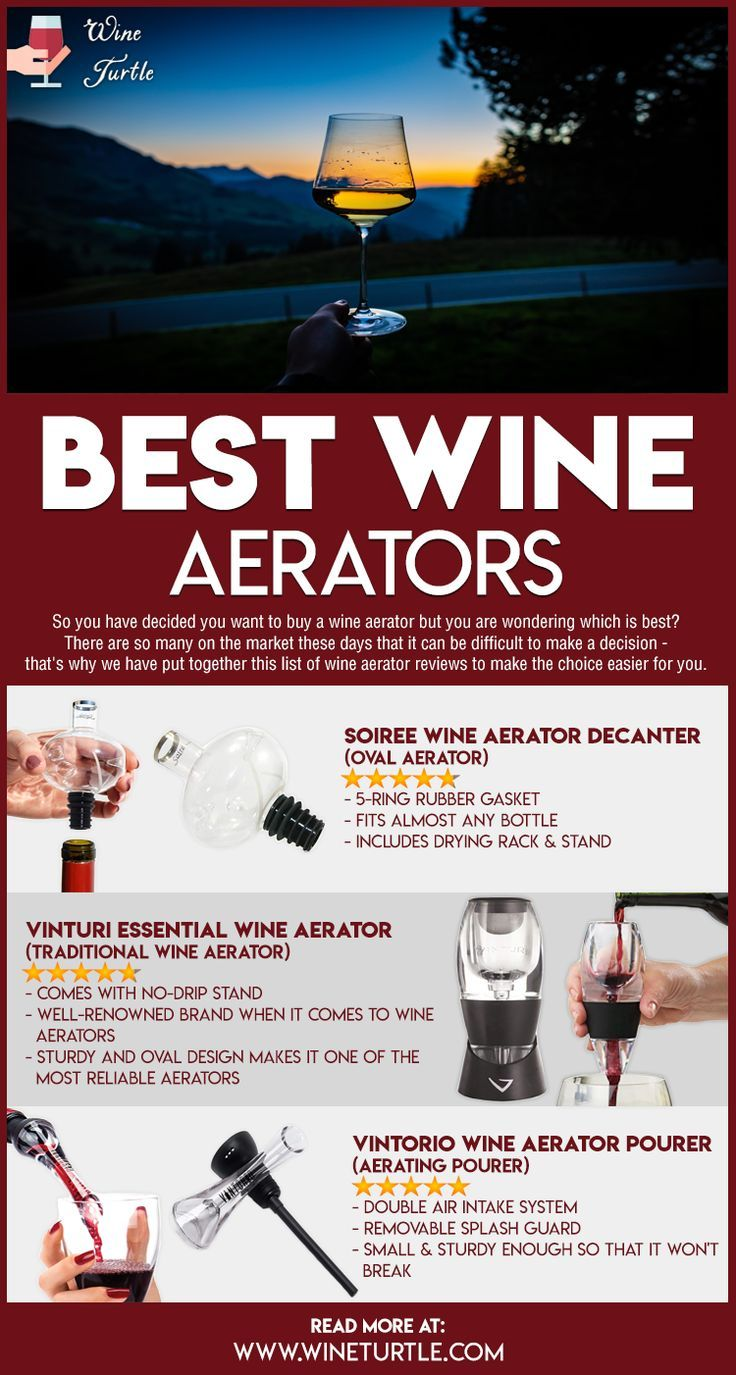 Best Wine Aerators Top Reviews Picks For 2020 In 2020 Wine Aerators Wine Cooler Aerator