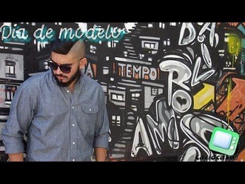 DIA DE MODELO - #modelando - YouTube