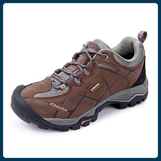clorts Damen Nubuk Wasserdicht Low Rise Wandern Schuhe hkl805C, damen, braun, UK5 - Sportschuhe für frauen (*Partner-Link)