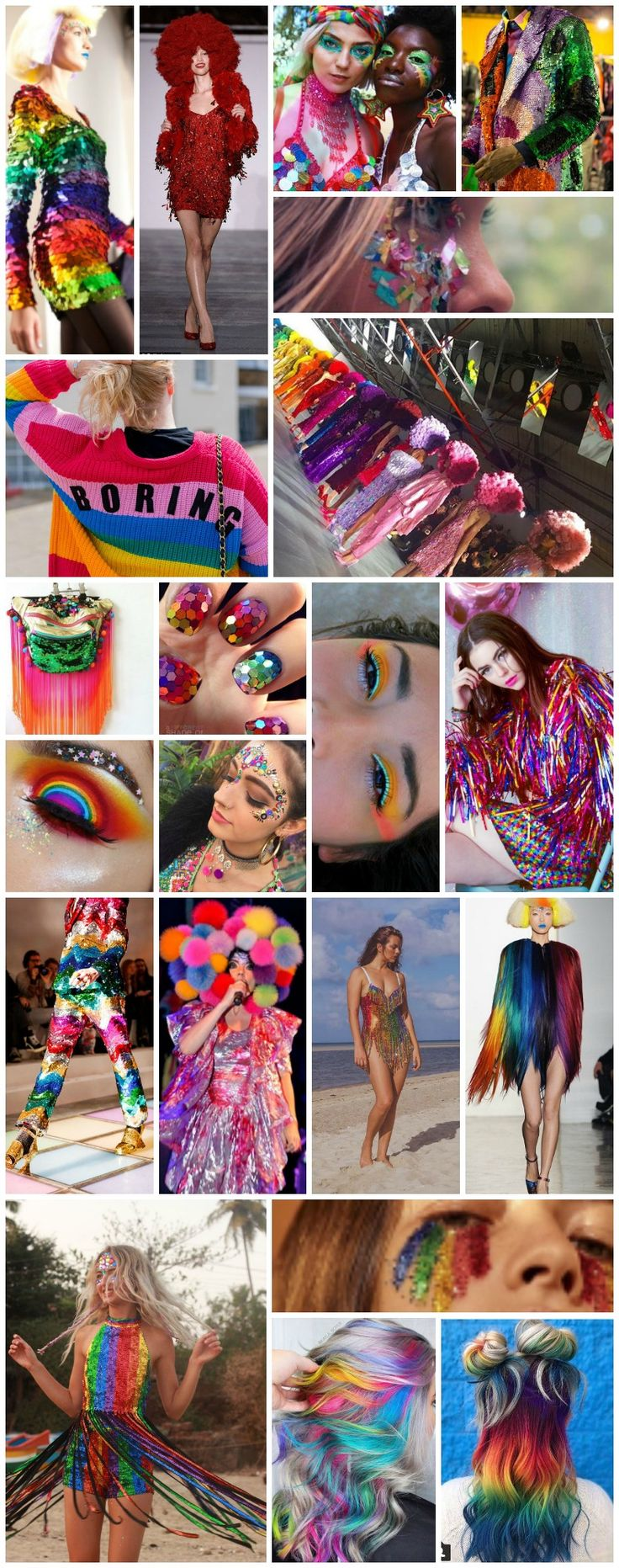 Rainbow-tastic festival fashion inspiration for Bestival's year of colour