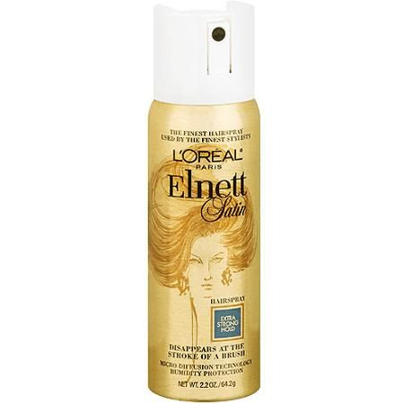 L'Oreal Elnett Strong Hold Mini Hairspray, 2.2 oz: