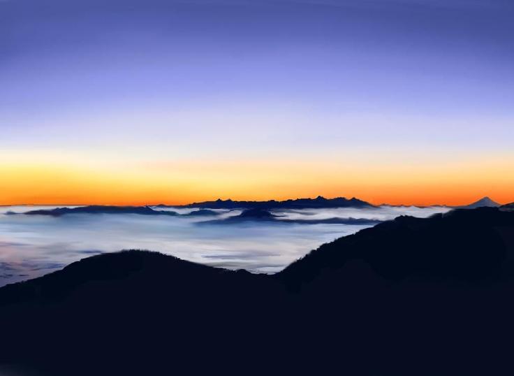 Yatsugatake ● 雲海 八ヶ岳