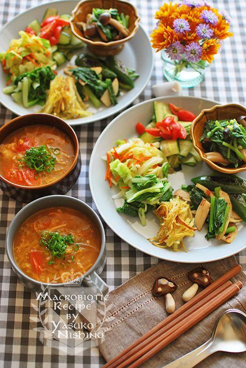 アジア風小鉢料理ランチ。ルーティン。 の画像 西野椰季子のマクロビオティックレシピ