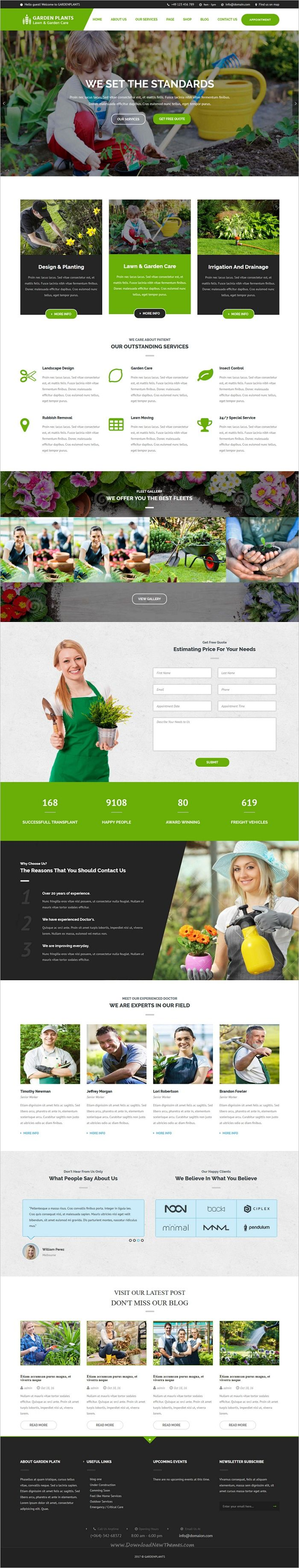Garden plants is a wonderful 3in1 responsive #WordPress theme for #webdev stunning #lawn service, #landscaping companies, gardening business or florists websites download now➩ https://themeforest.net/item/garden-plants-gardening-lawn-care-and-landscaping-wordpress-theme/18925532?ref=Datasata