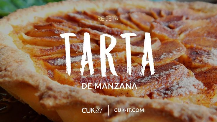 Receta de Tarta Dulce de Manzana Italiana - CUKit!