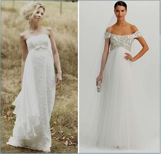 Где купить свадебное платье для беременных
