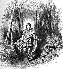 Rind er en jættekvinde. Sammen med guden Odin har hun sønnerne Skjold og Vale. Rind var de förfördas gudinna. Rind uppbär alla de egenskaper som förknippas med en ärbar kvinna. Hon blev utvald av Oden att föda det barn som skulle hämnas Balders död, men var dock föga lockad av Odens uppvaktning. Oden försökte åtskilliga gånger att förföra Rind, och det var först i skepnad av helerskan Vekka (hon som utövar och bemästrar trolldom) som han lyckades lägra henne. Frukten av mötet blev Vale (han…