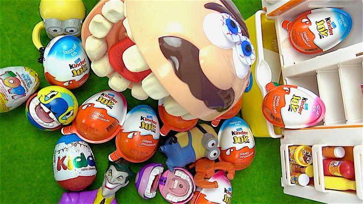 Aç adam buzdolabından Kinder Joy sürpriz yumurta alırken hırsız Minyonla...