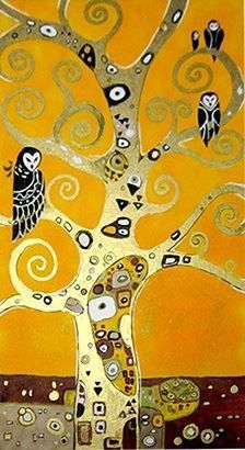 Image Result For Detail Gustav Klimt Tree Owl Klimt Art