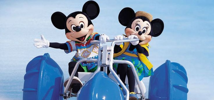 Resorts worldwide, of all sizes, kinds and types of guests know the enjoyment of riding Aqua-Cycle™ Water Trikes. And their guests love having our water tricycles available to get on the water, but without even getting wet. A little exercise, fun in the sun and burning some calories even help Mickie and Minnie enjoy their Aqua-Cycle™ ride. www.Aquatic-Adventures.com