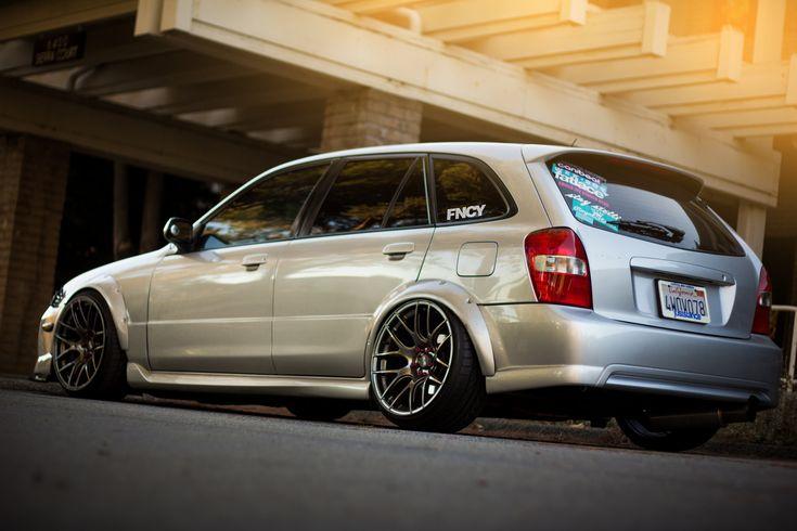 stanced+mazda | Stanced Mazda 323