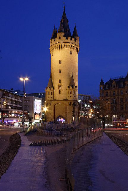 Escenheimer Tor Frankfurt Germany Germany Pinterest