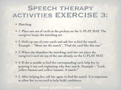 Best Adult St Images On   Speech Language Therapy