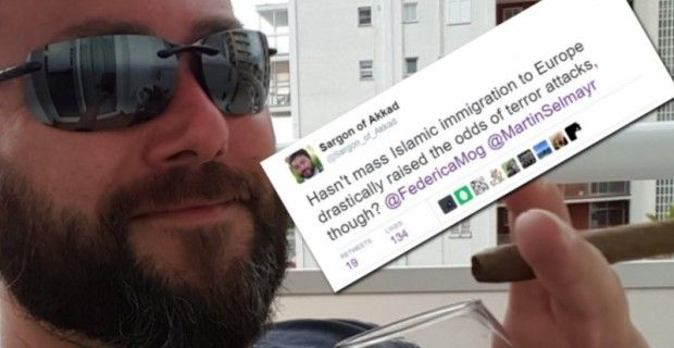 Twitter Bans Prominent User After He Questions EU Official on Islam  PrintThe Alex Jones ChannelAlex Jones Show podcastPrison Planet TVInfowars.com TwitterAlex Jones' FacebookInfowars store Sargon of Akkad's account suspended after highlighting link between Islamic