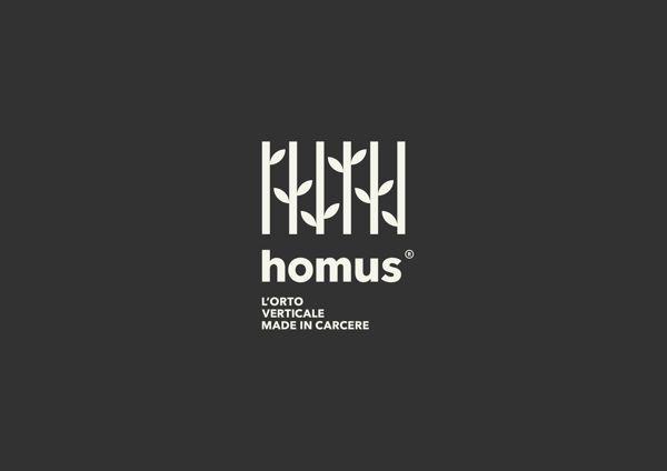 Unique Logo Design, Homus #logo #design (http://www.pinterest.com/aldenchong/)
