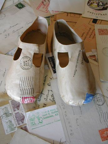 Letter Baby Shoes - Jennifer Collier