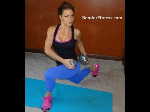 15 Minute Sculpted Body Home Workout---- pretty good weighted rep based one.