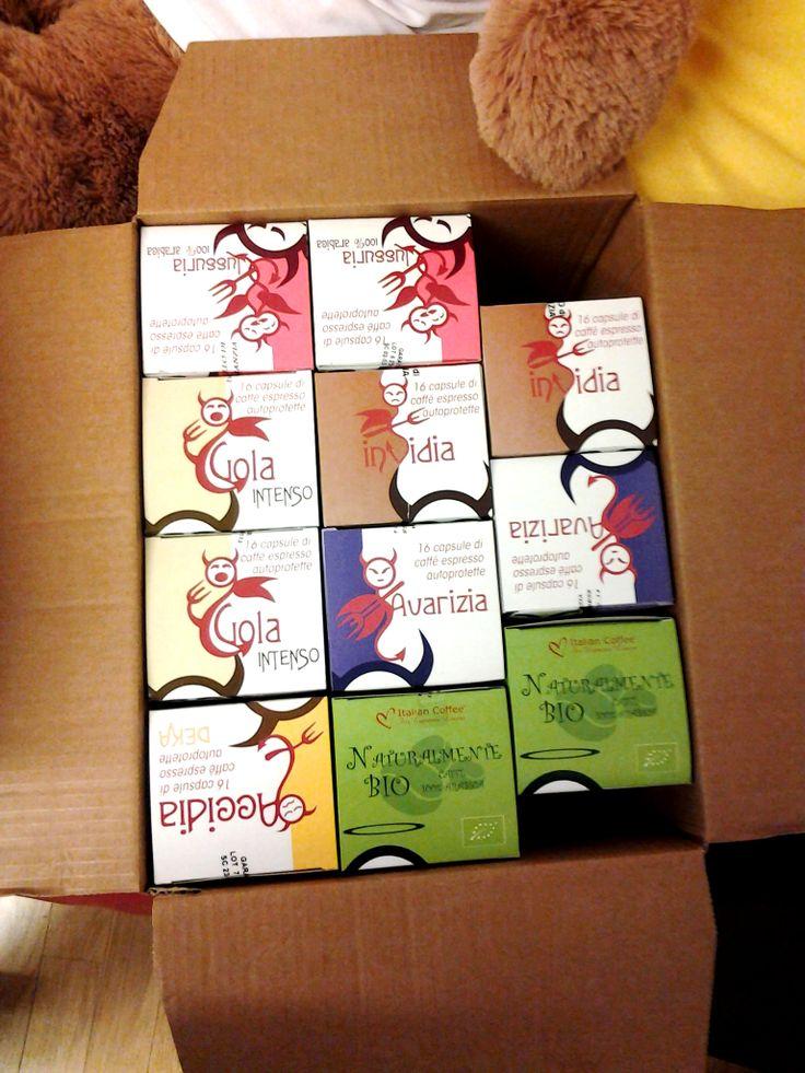 http://www.italian-coffee.biz/ Una scatola di peccati!