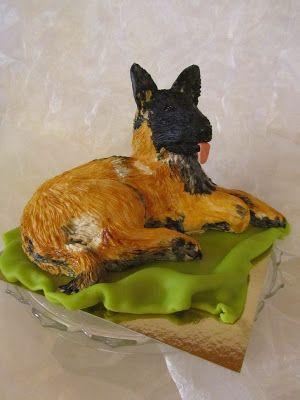Purppurahelmen juhla- ja  fantasiakakut: Malinois kakkua