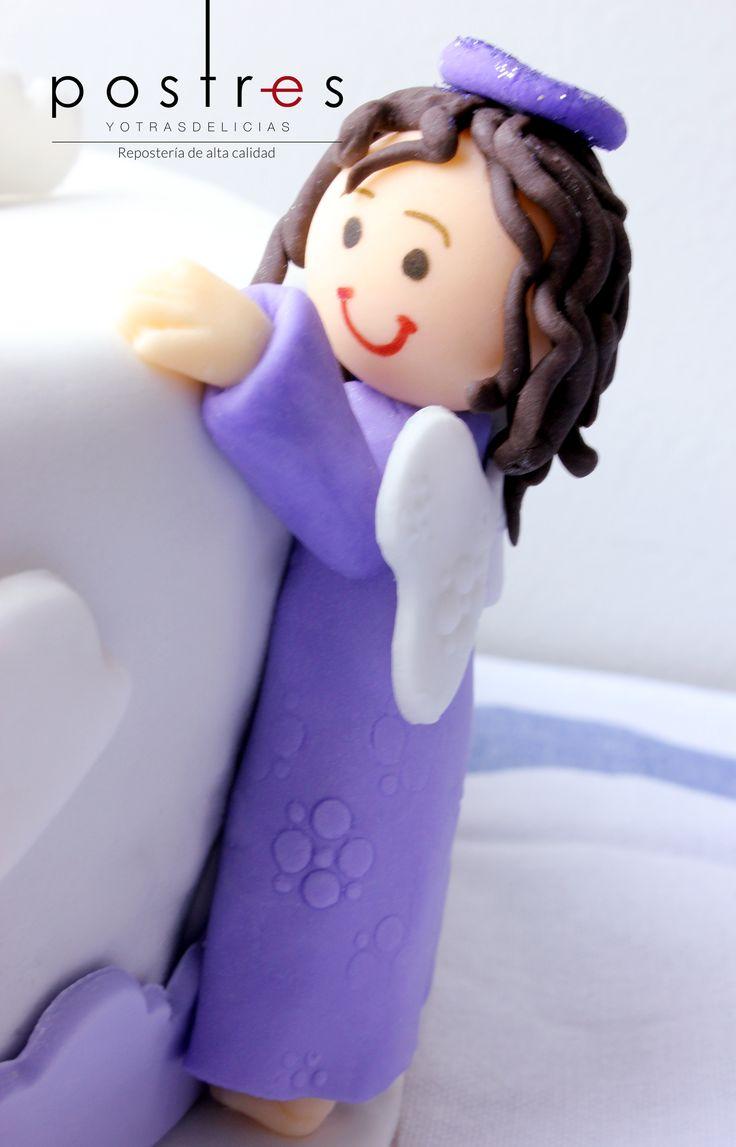 Angel para torta #angel #tortastematicas #mesasdeduces #postresyotrasdelicias