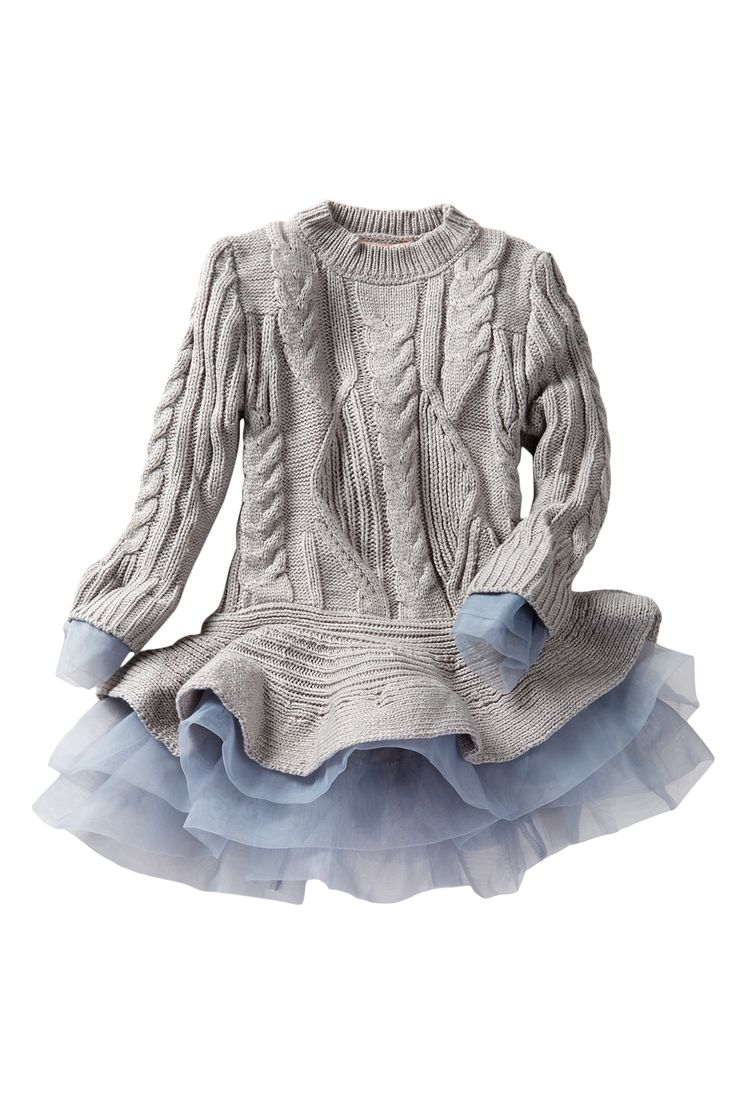 Flounce Sweater Tutu Tunic (Toddler, Little Girls, & Big Girls) by Paulinie on @nordstrom_rack