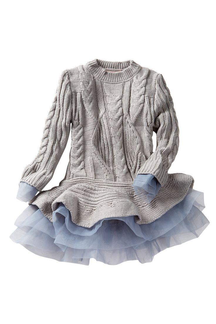 Flounce Sweater Tutu Tunic