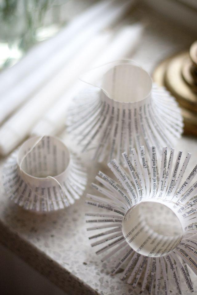 UKKONOOA: Paperilyhdyt / Paper Lantern Ornaments