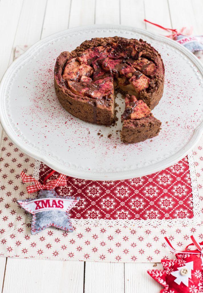 Świąteczna tarta z jabłkami i cynamonem - healthy plan by ann