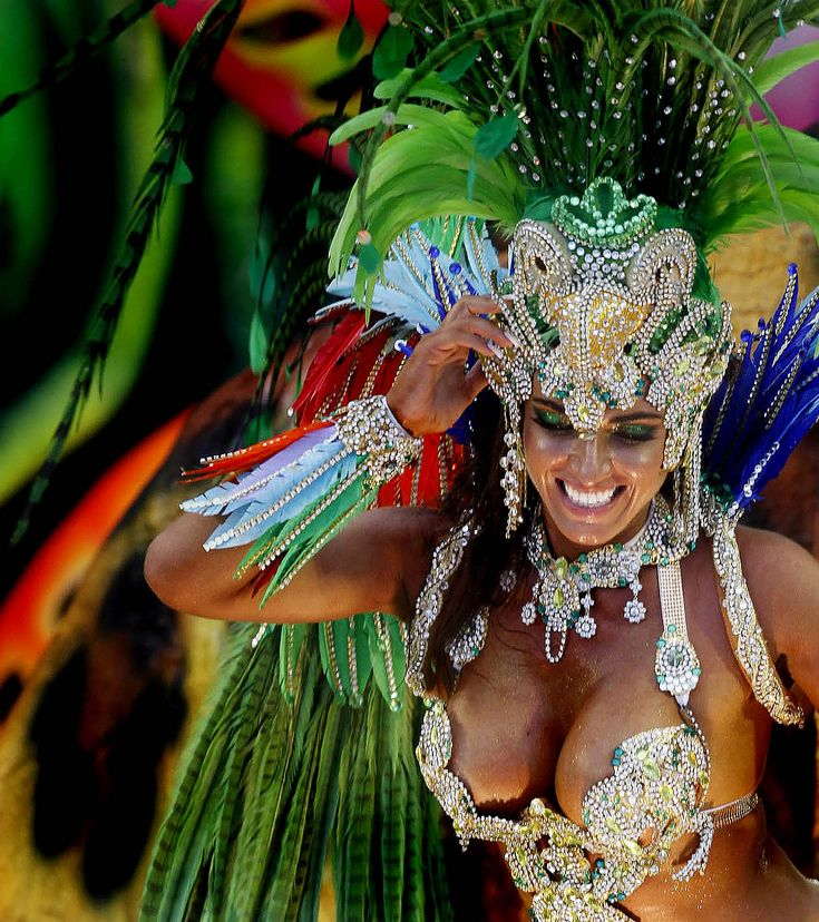 Carnival in Rio - Brazil during Feb. is a must!!