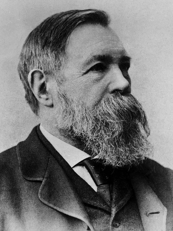 Marx's pal Friedrich Engels and an arguably more epic beard.