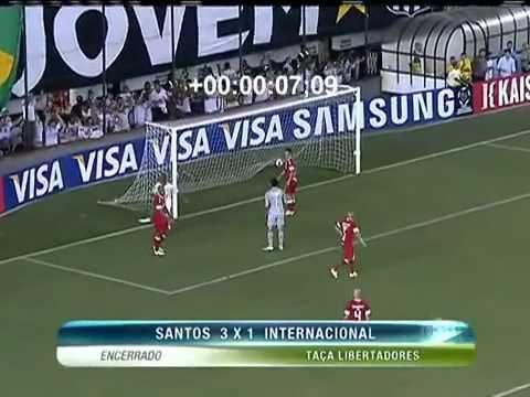 Santos 3 x 1 Internacional - Rogério Assis e o Show de Neymar 2012