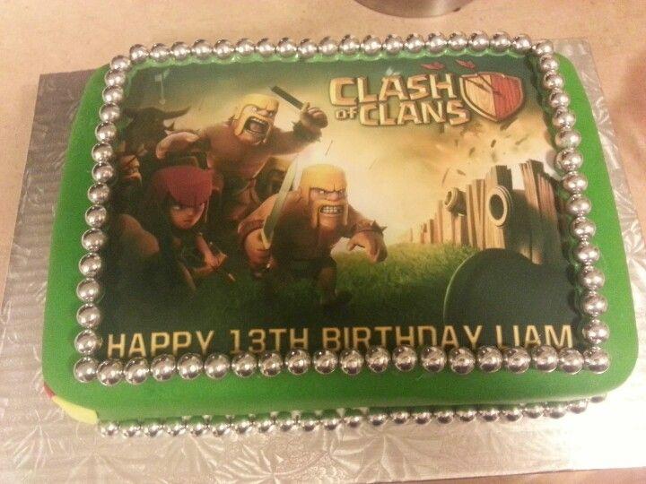Clash Of Clans Birthday Cake Rewards