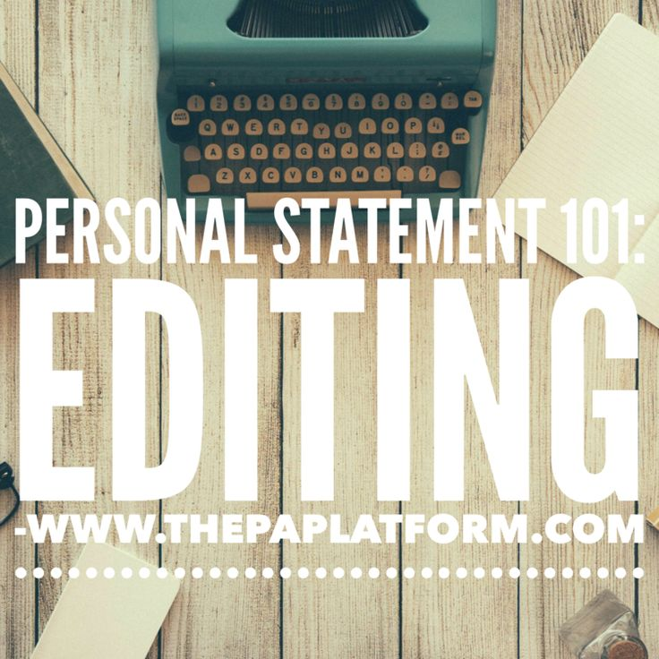 Related For     personal statement for pa school examples