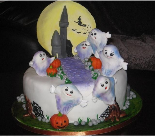 halloween cakes google search - Halloween Decorated Cakes