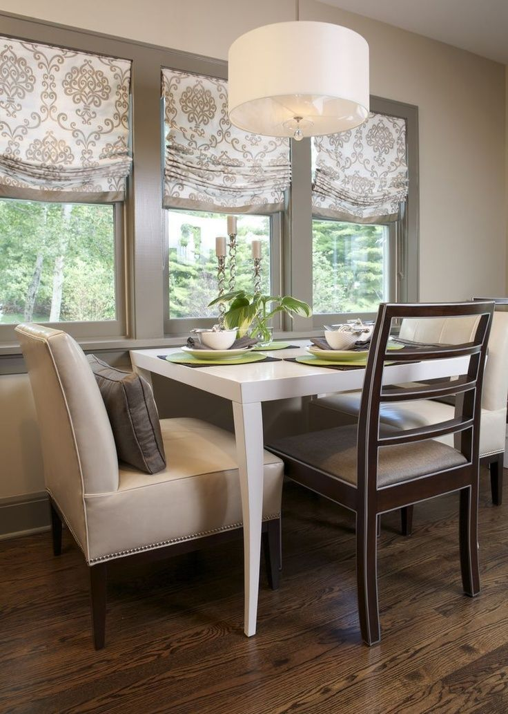 Dining Room Tray Ceiling 17 Best Ideas About Kitchen Window Treatments On Pint Window Treatments Living Room Dining Room Windows Dining Room Window Treatments