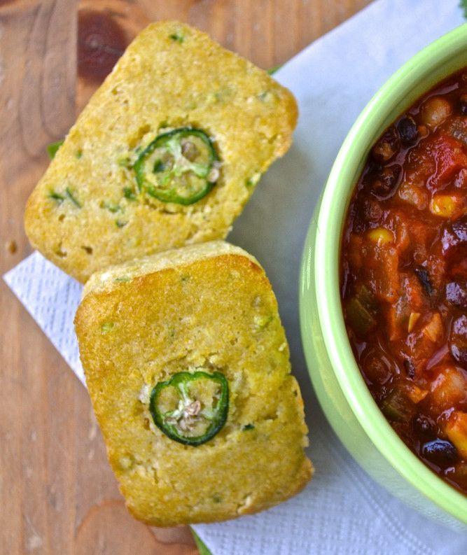 Cornbread (pain de maïs) au jalapeño – Catherine Cuisine