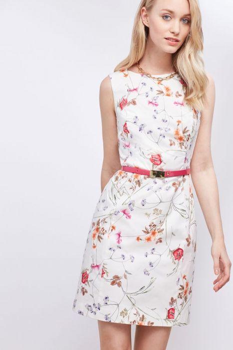 Cortefiel vestidos primavera 2017 (1)