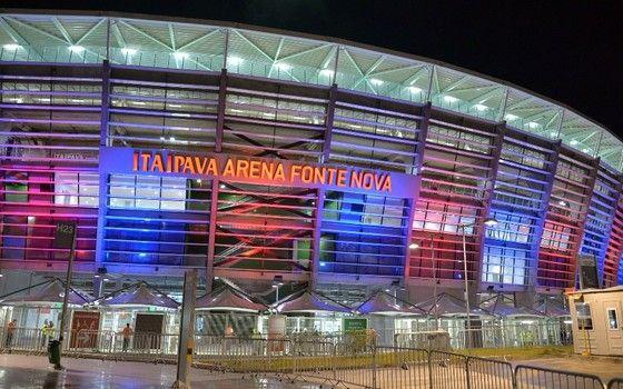 Arena Fonte Nova, batizada pela Itaipava (Foto: Erik Salles / BAPRESS)