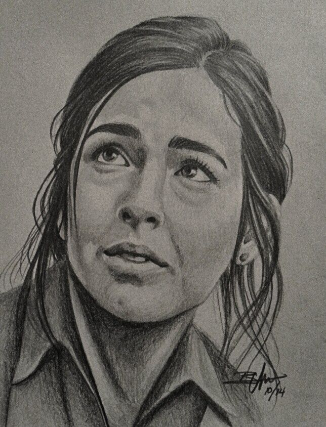 Alana Masterson fan art. Tara walking dead