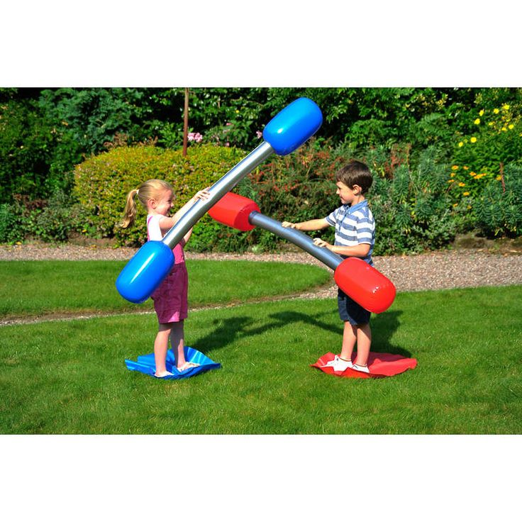 Outdoor Gladiator Game - Battle it out with this gladiator inflatable duel set - a fun outdoor game of skill and balance for the whole family. 3+ years