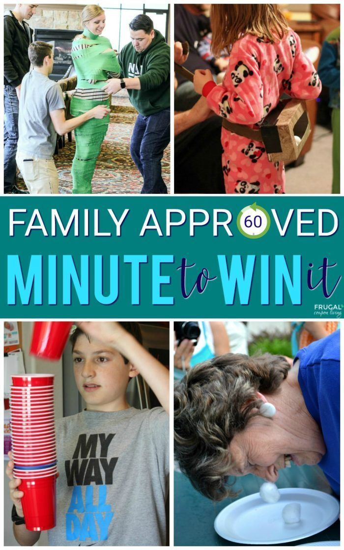 Minute to Win It Game Ideas Party  Celebrations Pinterest