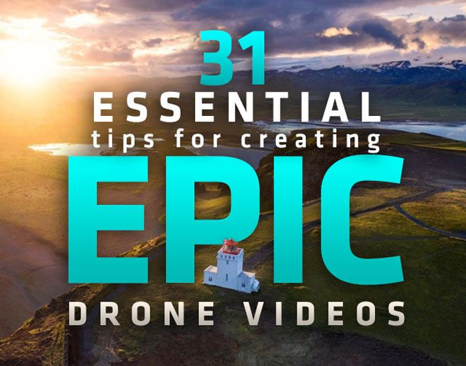 Tips for capturing high quality, cinematic drone videos. Production and Post-Production topics include ISO, d-log, lenses, editing, sfx, color correction, color grading and more!
