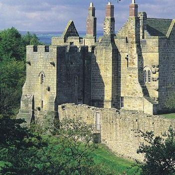 14th century Aydon Castle, Northumberland, England