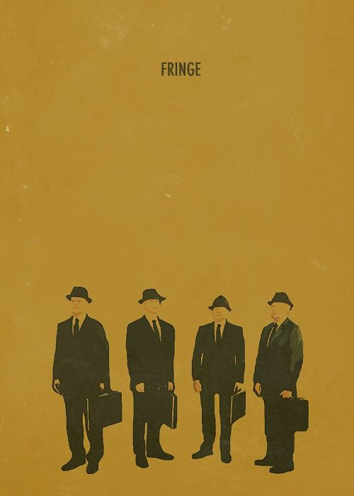 Fringe. the final season minimalist poster