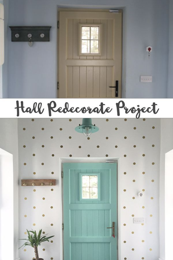 Hall Redecorate Project Home Home Decor Renovation