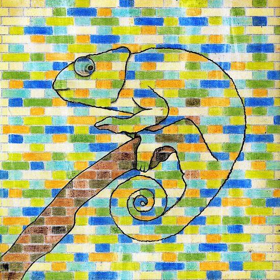 #chameleon #wallsnotebook #samserif