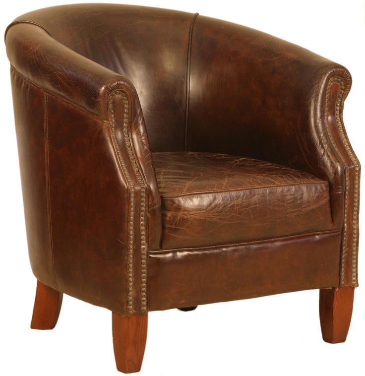 www.topolansky.co.za - Nottingham Vintage Tub Chair
