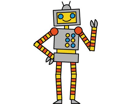 """Students can program the robot to move in different ways, adjusting a scale to move arms, legs, hips and head differently. Alternatively students can switch to the """"coding"""" version and adjust the code by changing the numbers. A great way for students to experiment and """"hack"""" to make the robot move!"""